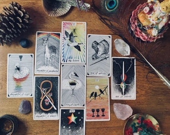 Esoteric Wisdom Reading 𓅓 45mins, 9 cards