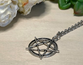 Pentacle Charm Necklace