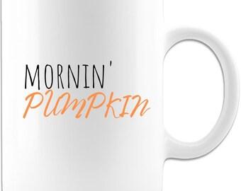 Mornin' Pumpkin Ceramic Coffee Mug