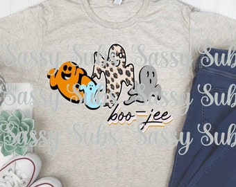 boo-jee, ghost, cute retro, halloween, trickrtreat, PNG, boutique