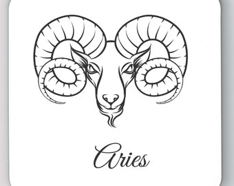 Set of 4 Aries Coaster 262-336