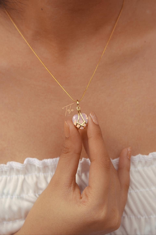 Barbie Diamond Castle Inspired Jewelry, Necklace, Crystal Heart Earrings, Ring