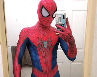 Amazing Spider-Man Cosplay Costume (Muscle Shaded)