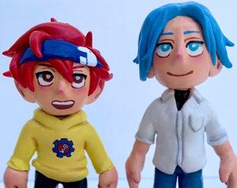 Videogame Anime Custom Sculpture LOL