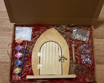 Decorate your own elf door