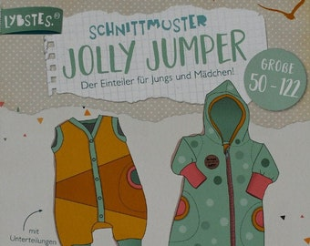 Paper Sewing Pattern Lybstes - Jolly Jumper - Sizes 50-122