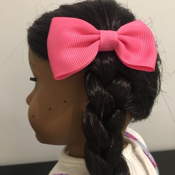 Grosgrain Hair Bows for 18 Inch Dolls
