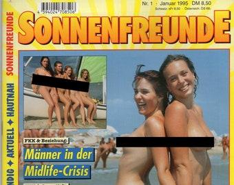 Sonnenfreunde 1995 Nr. 1 - Magazine Magazine Natural Life Nudist Nudist Naturist Naturist Naturism