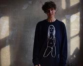 Darkside Girl Sweatshirt (white lines)