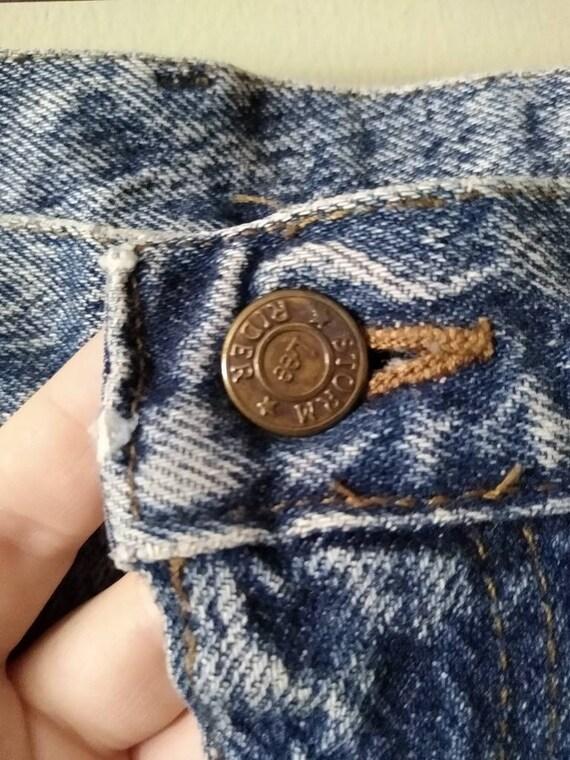 Men's 42x28 Lee Jeans // Vintage 1980s Acid Wash - image 7