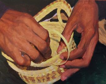 Sweet Grass Basket Weaving, SC Low Country