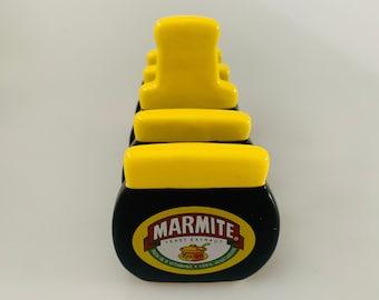 Vintage Marmite Ceramic Toast Rack, Collectibles, Novelty Item, Kitsch Present