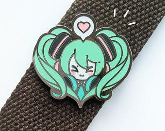 Miku Loves You - Enamel Pin