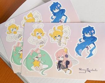 Starry Vocaloid Sticker Sheet
