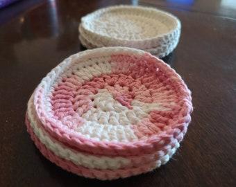 Face Scrubbies - Set of 3 - Cotton Crochet