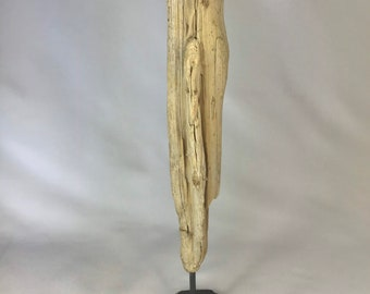 Madame // Wood Artwork Wooden Object Driftwood Wood Decoration Decoration Carving
