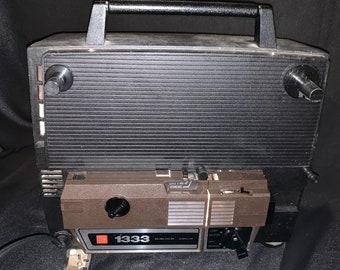 GAF Dual Super/Regular Autoload 8mm Projector Model 1333