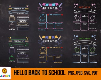 Back to school svg, teacher svg, first day of school, kindergarten svg, school svg cut files, SVG Files, Silhouette Cut Files