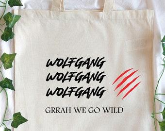 Wolfgang Stray Kids tote bag