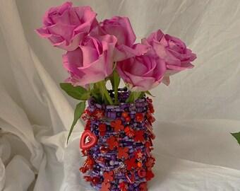 Lilac dreamz y2k vase