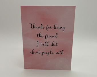 THAT Friend Greeting Card