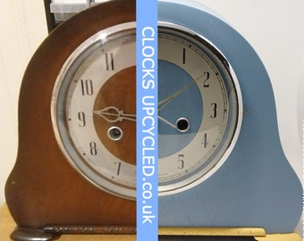 Let me give your vintage Clock a MAKEOVER - convert to battery & repaint in custom colours