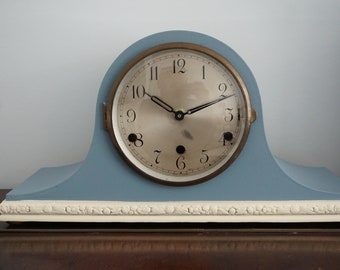 Vintage Napolean Hat Mantel Clock given a makeover and converted to AA battery quartz movement