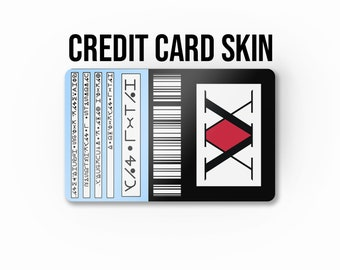 Hunter License Credit Card Skin, Bank Card Wrap, Credit Card Sticker, Vynil Credit Card - C-D490