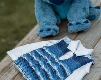 Baby sweater size 56/62 blue