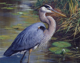 The Great Blue Heron Panel