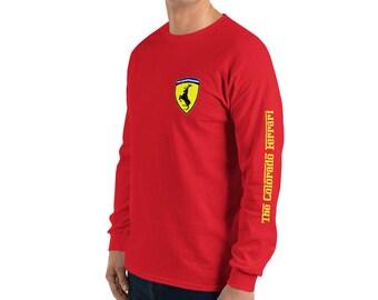 SHIRT herren Scuderia Ferrari Classic Cotton Longsleeve Formula One 1 DE
