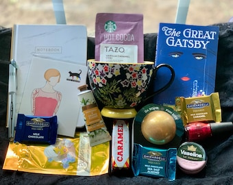 Literary Care Package/Self-Care Box - The Great Gatsby by F. Scott Fitzgerald