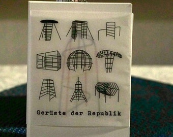 "Postcard sets ""Scaffolding of the Republic"""