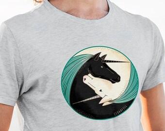 Unicorn T-Shirt | Unisex Graphic Tee | Women's Tshirt | Men's Shirt | Unicorn Gift
