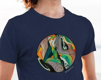 Animal Circle T-Shirt | Short-Sleeve Shirt | Genderless Shirt | Unisex