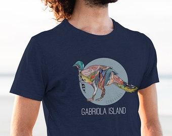 Gabriola Island Turkey T-Shirt   Island Shirt   Genderless Shirt   Unisex
