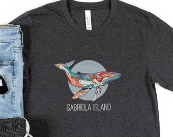 Gabriola Humpback Whale T-Shirt   Humpback Whale Shirt   Whale Shirt   Unisex   Gabriola Island   BC   Ocean Lover Gift