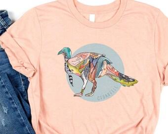 Turkey T-Shirt   Short-Sleeve Shirt   Genderless Shirt   Unisex   Bella+Canvas   Turkey Lover   Thanksgiving