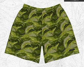 Croc Camo Men's Athletic Shorts