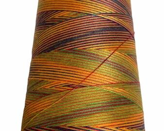 Multi-Purpose 40/2 Multi-Colored Polyester Thread - 3,000 Yard Spools - 10 Color options