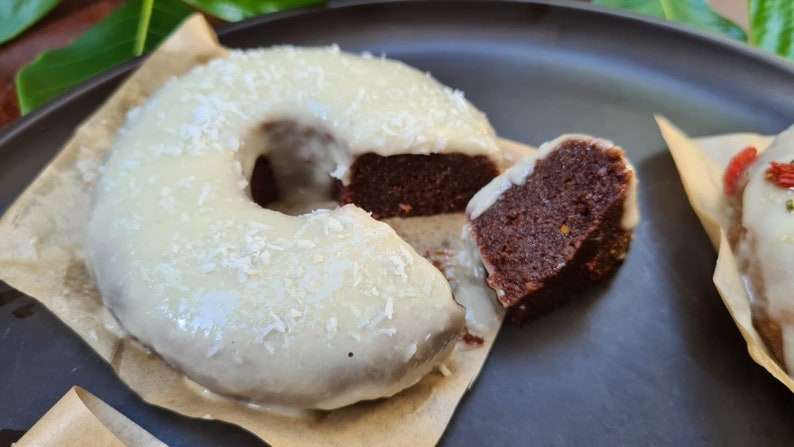 Chocolate Donut Doughnut Recipe Raw Vegan VegetarianHealthy image 0