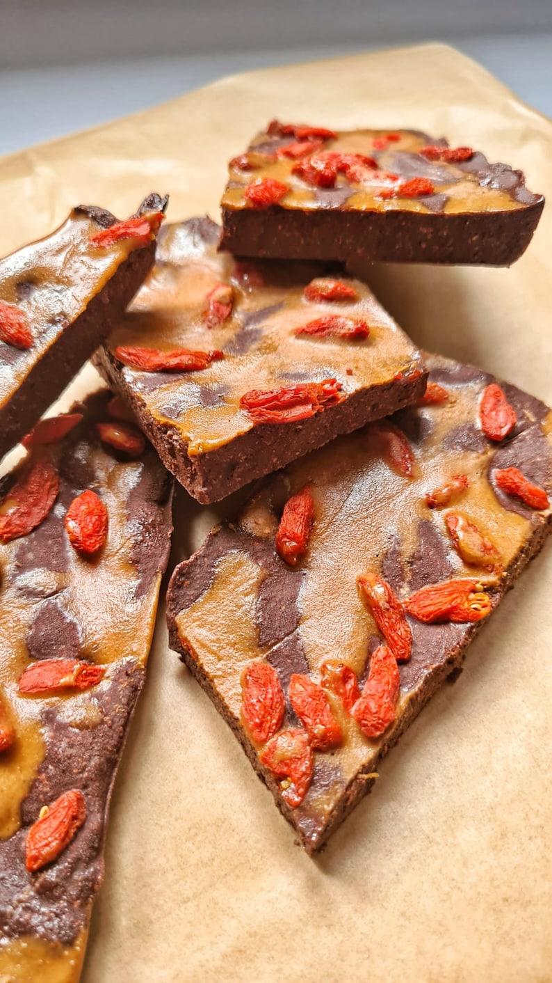 Chocolate Recipe Raw Vegan Dark Chocolate Bars Gluten Free image 0
