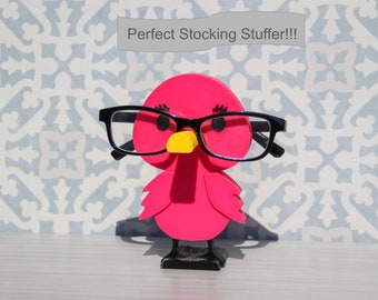 Flamingo Eyeglasses Holder, Glasses Holder, Glasses Stand, Unique Gift Idea or Stocking Stuffer