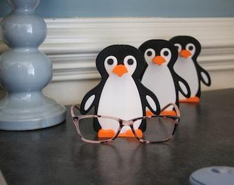 Penguin Eyeglasses Holder, Penguin Glasses Holder, Glasses Stand, Unique Gift Idea or Stocking Stuffer