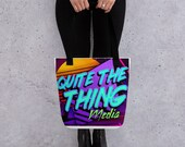 Quite The Thing Media Tote bag