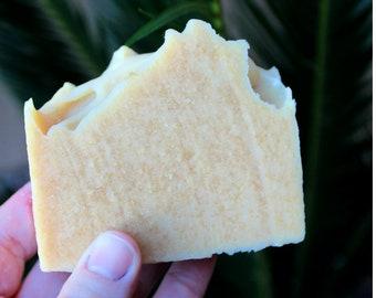 Milk & Honey Cold Process Soap