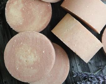 Lavender Orange Salt Soap