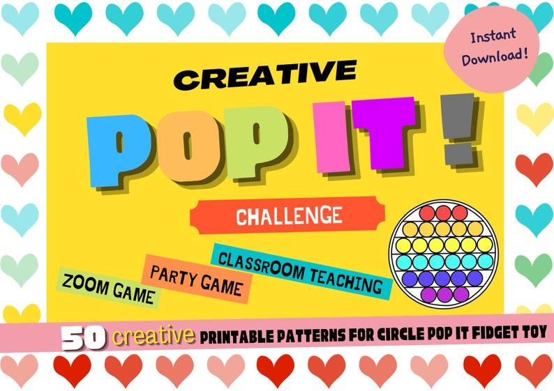 Creative Pop It! Challenge Game