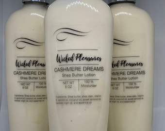 Wicked Pleasures Shea Butter Lotion