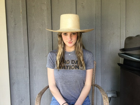 Summer Straw Hat, Hand Made Stylish Sun Hat, - image 4